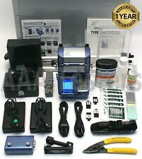 Sumitomo Type-25S SM MM Fiber Fusion Splicer w/ USF-21C Cleaver Type25 Type-25 S