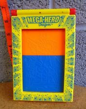 MEGA-HERO DESIGNER incomplete 1992 art plates set Lanard Toys cyborg