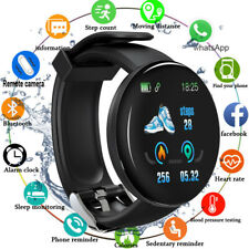 D18 Smart Watch Bracelet Heart Rate Monitor Fitness Tracker For Samsung iPhone