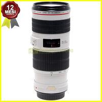 Canon EF 70-200mm. f4 L IS USM Obiettivo zoom stabilizzato per fotocamere EOS.