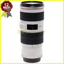 Obiettivo Canon EF 70-200 mm f4 L IS USM zoom Full Frame per fotocamere EOS