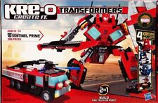 Kre-O Create It Transformers Sentinel Prime Fire Truck NIB 386 Pieces 4 Kreons