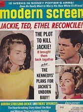 MAY 1969 MODERN SCREEN vintage movie magazine ---  JACKIE KENNEDY