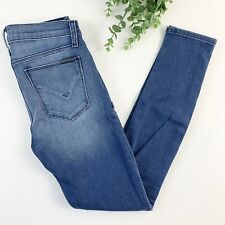 Hudson Krista Super Skinny Light Wash Stretch Jeans Womens Size 25