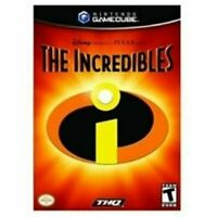 Incredibles, The - Nintendo Gamecube Game Authentic