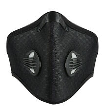 RockBros Bike Outdoor Cycling Anti-dust Half Face Mask Filter Neoprene Black