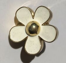 MARC JACOBS White DAISY Perfume Solid Ring