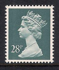 GB 1991 sg X977 28p Deep Bluish Grey photogravure phosphorised paper MNH