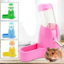 3 in 1 Hamster Water Bottle Holder Dispenser With Base Hut Small Animal Nest