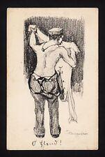 """37314/ AK - 1. Weltkrieg - Karikatur - """"O Elend"""" - (*)"""