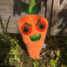 Juguetes de peluche de juguete asesino zanahoria Kawaii Peluche Raro horror Regalos feo Juguete de Peluche