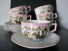 Antico servizio da tè in porcellana giapponese