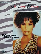 Whitney Houston I'm Every Women Tab Sheet Music Vocal Guitar Piano