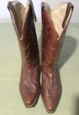 Vintage Cole Haan Country Men's Cowboy Boots 9M Brown 09075 (ii)