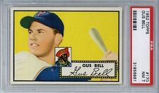 1952 Topps # 170 Gus Bell Pittsburgh Pirates PSA 7