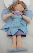 Planet Plush poupée chiffon fée bleue 26 cm