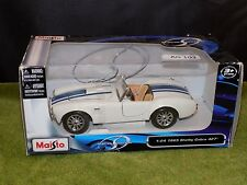 Maisto Special Edition 1965 Shelby Cobra 427 New in Box (AG 103)
