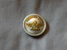 Masonic Concho Leather Items Widows Sons Wings Freemason NEW!