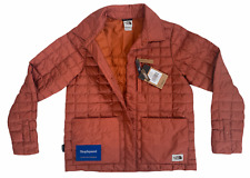 THE NORTH FACE THERMOBALL ECO JACKET PICANTE RED WOMENS SZ LARGE L NEW FAST🔥