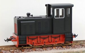 Accucraft / BMS E19-1B Baguley Drewry 0-6-0 Diesel – Black
