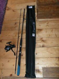 Shakespeare 6ft Zeta Spinning Rod & Shakespeare 40FS Beta Reel+Line Lure Fishing