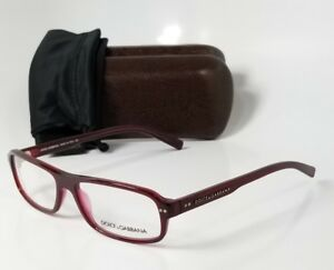 NEW DOLCE GABBANA DG3017 630 burgandy reading glasses computer readers eyeglass