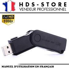 USBM2 CLÉ USB CAMÉRA ESPION FULL HD 1080P MICRO SD JUSQU'À 256 GO VIDÉO PHOTO