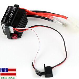 320A RC Car Hobbywing QuicRun 1060 60A Brushed ESC Electronic Speed Controller~