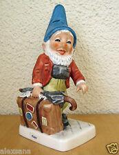 GOEBEL CO-BOY FIGURINE RUDY THE WORLD TRAVELER TM6 GNOME GERMANY RETIRED MINT