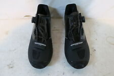 LOUIS GARNEAU CARBON LS-100 II CYCLING SHOES MEN'S 46.5 US 11.75 Black $220