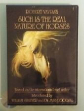 robert vavra's SUCH IS THE REAL NATURE OF HORSES william shatner / j goodall DVD