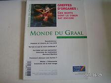 ** Monde du Graal n°265 Transplantations d'organes / Swedenborg
