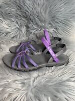 Teva Kayenta Size 9.5 Purple Strap Ankle Comfort Outdoor Water Sandals
