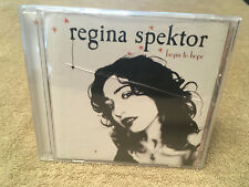 Regina Spektor Begin to Hope CD 06 Sire Playgraded