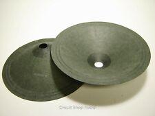 """Pair 12"""" Hemp Guitar Speaker Cones - Hempcone12"""