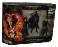 Star Wars Commemorative DVD Collection Figure 3-Pack - (Emperor Palpatine / Coun