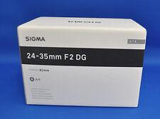 Sigma 24-35mm F2 DG HSM Art Lens for Digital SLR Camera for Canon From Japan New