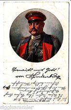 Generalfeldmarschall von Hindenburg AK 1915 Rotes Kreuz Adel Monarchie 1511778