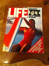 Life Magazine February 1981 John Lennon Wind Surfing Dr. George Snell Beatles