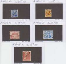 C2111: Better Germany Berlin Stamps; Used; CV:$157.00