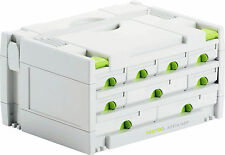 Festool Systainer 491985 SYS 3-Sort / 9 cassetti Sortainer
