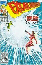 Excalibur # 50 (Alan Davis, 56 pages) (Estados Unidos, 1992)