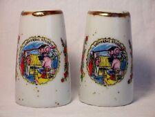Vintage UNIVERSAL STUDIOS, CA Porcelain Souvenir Salt & Pepper - Japan