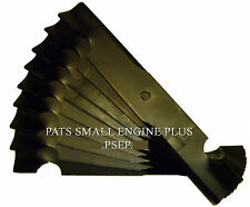 "9 PK GRAVELY 48"" CUT HIGH LIFT HEAVY DUTY LAWN MOWER BLADES 04919100 04924600"