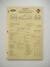 fiche technique  L'EXPERT AUTOMOBILE -FORD FIESTA 1.3/1.4 & 1.6 à partir de 1984