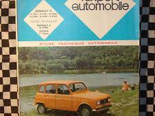 revue technique RENAULT 4 / 4L / F4 + CARROSSERIE / 1975 / français