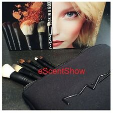 NIB MAC LOOK IN A BOX BRUSH KIT ADVANCED SET 168SE 193SE 219SE 228SE 266SE 275SE