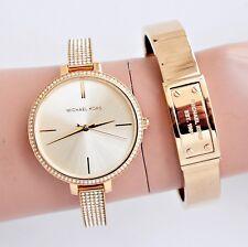 Michael Kors Uhr Damenuhr MK3784 Jaryn  in Farbe:Gold/Kristall NEU