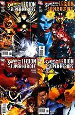 Supergirl and the Legion of Super-Heroes #33-36 (2006-2007) DC Comics - 4 Comics