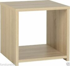 Oak Square Traditional Side & End Tables with Flat Pack